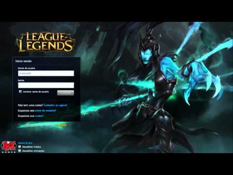 Login Screen - Kalista [PT-BR]