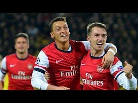 Arsenal vs Newcastle United 3-0 Goal Mesut Ozil 28-04 2014 HD