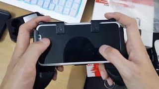 Mở hộp Combo Gamepad, Joystic, nút hỗ trợ chơi Game PUBG Mobile và Liên Quân Mobile