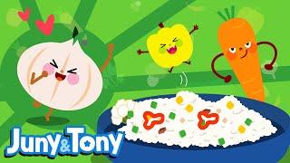 I Love Vegetables | Fruit&Veggie Songs for Kids  | Preschool Songs | KizCastle