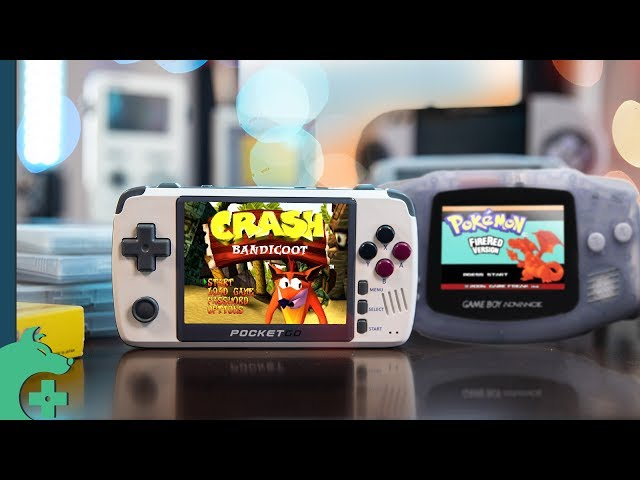 This Game Boy Advance clone plays PlayStation Games