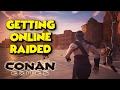 GETTING ONLINE RAIDED Conan Exiles Ft Maxmoefoegames mp3
