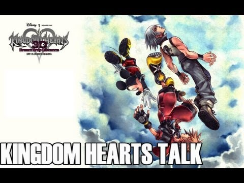 Kingdom Hearts Talk:3D English Trailer,HD Collection,Kingdom Hearts 3 + FF Versus 13!