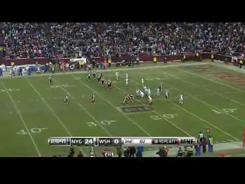 Giants Vs Redskins ( Monday night football)