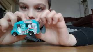 My First Video - Reviewing Hotwheels Cars