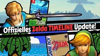 The Legend of Zelda TIMELINE - Nintendos offizielles UPDATE 2018!