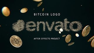 After Effects Template: Bitcoin Logo