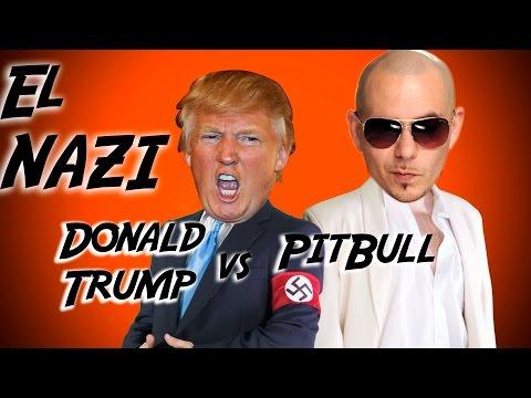 Donald Trump Vs Pitbull - Parodia El Taxi - Batalla - Internautismo Crónico