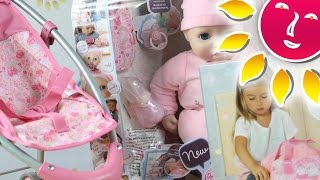Baby Anabell - Lalki Funkcyjne z Akcesoriami / Function Doll with Accessories - Zapf Creation