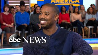 Michael B. Jordan dishes on 'Creed II' live on 'GMA'