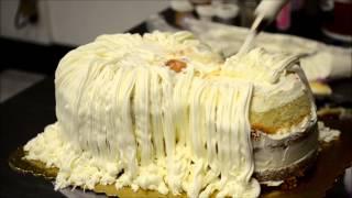 How to make puppy dog cake