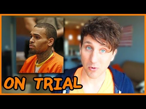 Chris Brown goes to trial