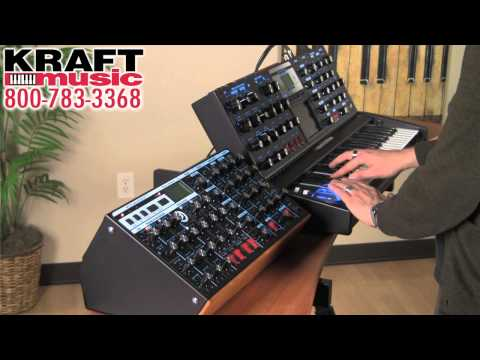 Kraft Music - Moog Minimoog Voyager Rack Mount Edition Demo with Jake Widgeon