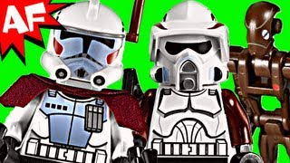 ELITE CLONE Troopers & Commando Droid Battle Pack - Lego Star Wars Set 9488 Animated Review