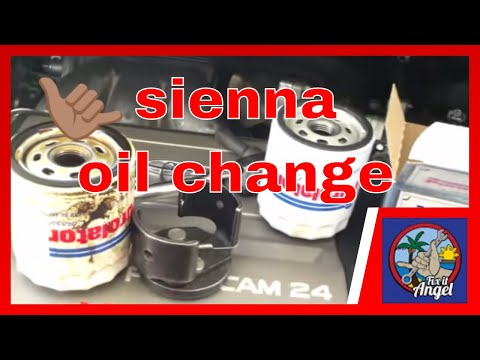 Toyota sienna change engine oil and filter how to save for Toyota sienna motor oil