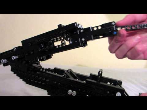 Lego Double Barrel Shotgun (working)