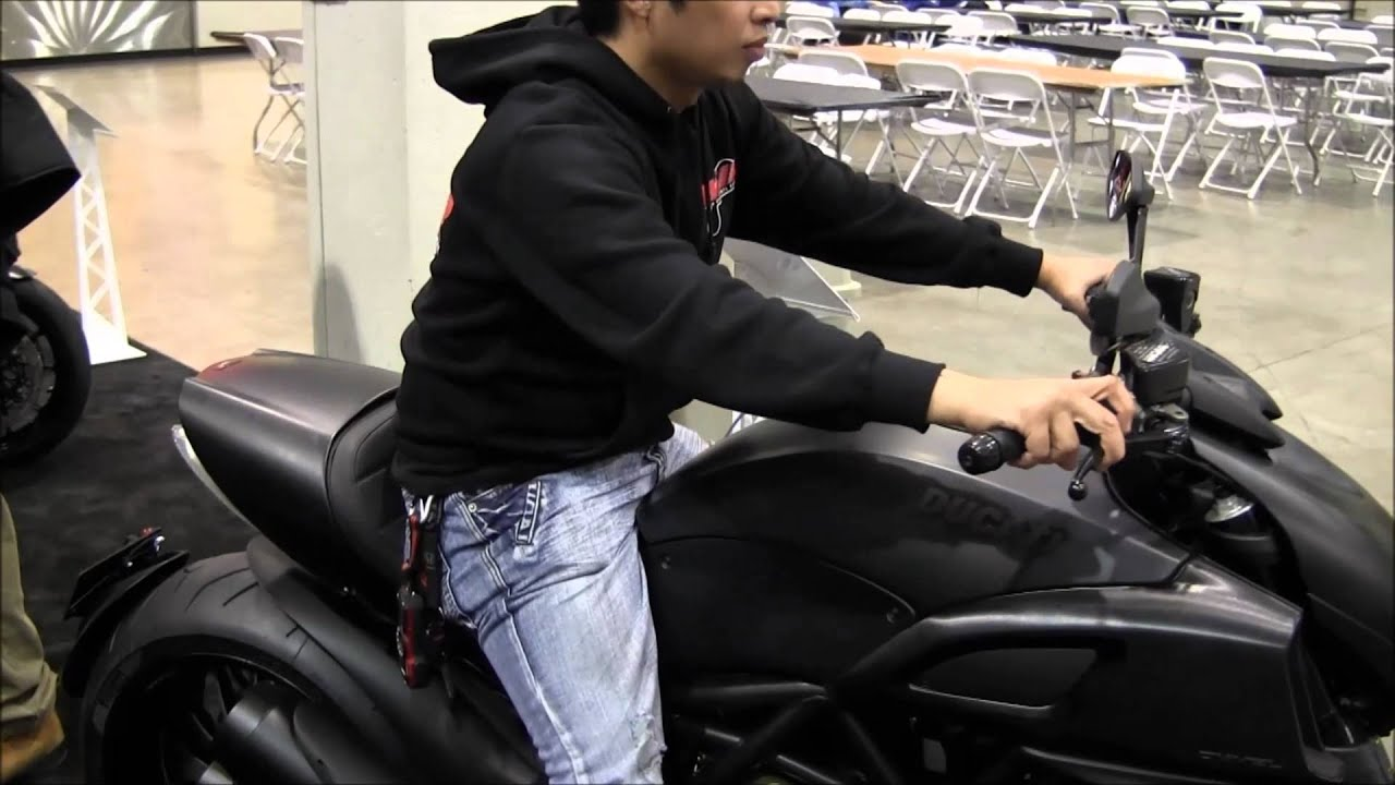 Matte Black Ducati