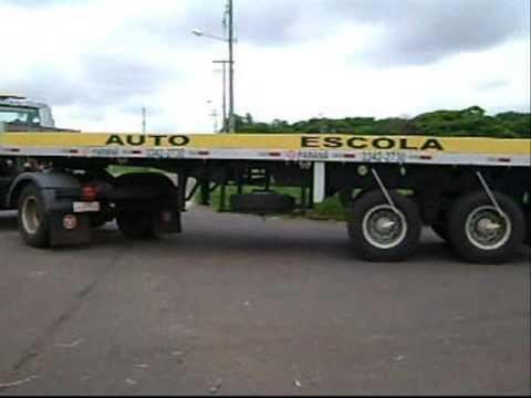 Manobras de carreta (Auto Escola Paraná)