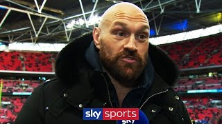 Tyson Fury reveals he's going to train for MMA with Conor McGregor!