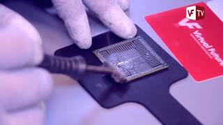 PS4 Reballing BGA APU in PlayStation 4 & replacing Thermal paste