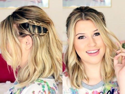 Penteado fácil e prático para cabelos médios - All Things Hair™