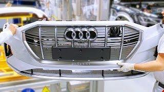Audi e-tron SUV Production Line – German Car Factory