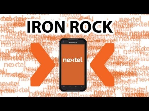 NUEVO SMARTPHONE  NEXTEL MOTOROLA IRON ROCK XT626