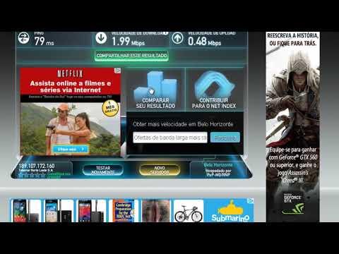 Acelerar Internet Adsl, melhorando a Oi Velox