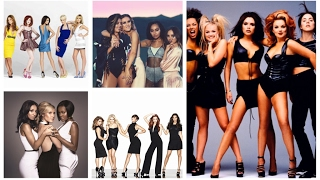 Evolution of British Girl Bands (1996 - 2016)