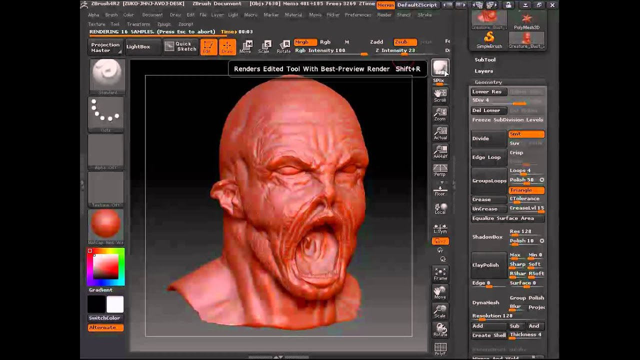 Scroll down to read : how to animate zbrush models by conrad aiken