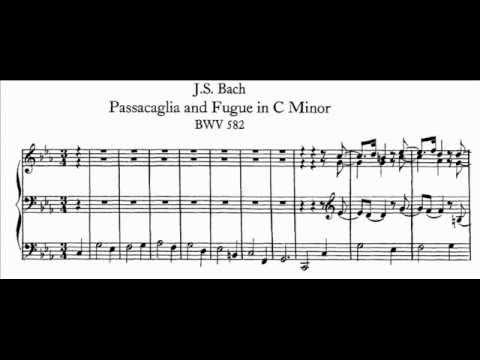 Бах Иоганн Себастьян - Passacaglia In Cm Bwv 582