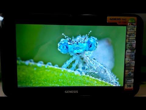 Tablet Genesis GT 7305 Som. Imagem. E-Books e Navegação