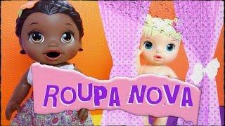 Baby Alive Dorinha e Mariah ganham um presente surpresa!