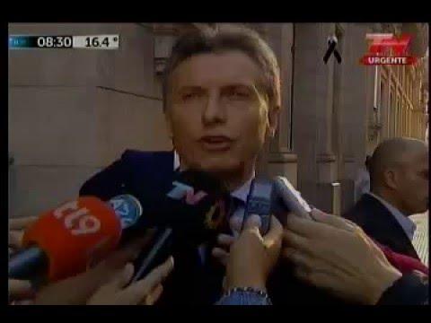 Mauricio Macri criticó el acto de Cristina Kirchner: Fue desafortunado