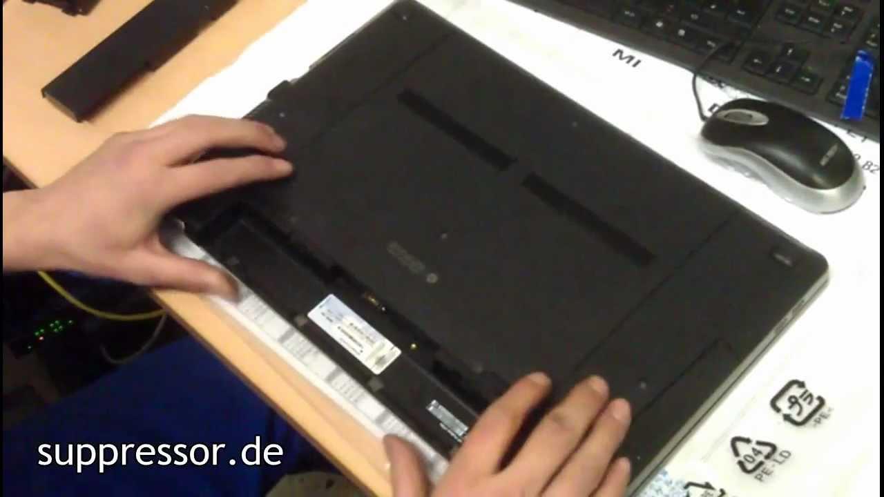 HP ProBook 4730s RAM HDD Tauschen - YouTube