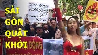 Sài Gòn biểu tình lớn chưa từng thấy chống luật đặc khu bán nước 99 năm