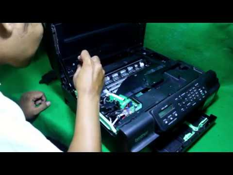 Tutorial Bongkar Print Head Printer Brother MFC-J200