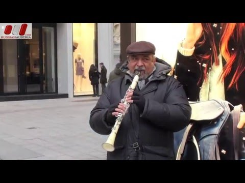 Ivan (Bulgaria). Clarinet. Vienna Street Performers by RussianAustria (Full HD)