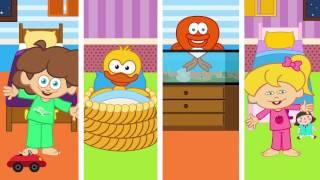 Koş Kendi Yatağına - Sevimli Dostlar Eğitici Çizgi Film Çocuk Şarkıları