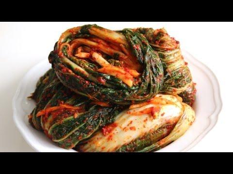 Making kimchi