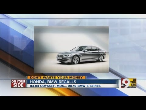 Honda, BMW recalls