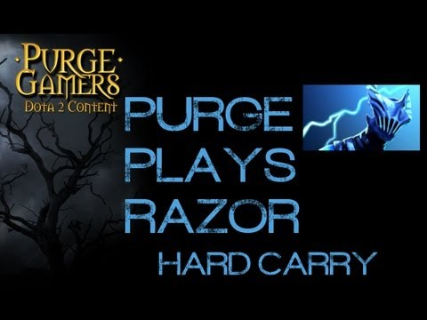 Dota 2 Purge plays Razor