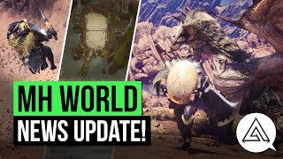 Monster Hunter World News | New Mantles, Arena Quests, Elder Dragons & More!