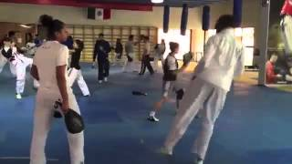 Taekwondo Training Mexico