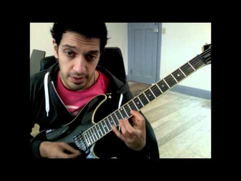 How to play Farewell Ballad  Zakk Wylde Guitar Solo Lesson