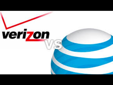 Verizon vs AT&T LTE advanced speed testing ( inside my office ) part 2