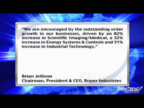 Earnings Report: Roper Industries, Inc. Reports Q2 Boost in Net Earnings and Net Sales