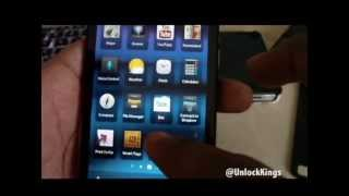 How to Unlock a BlackBerry Z10 At&t T-Mobile & More!