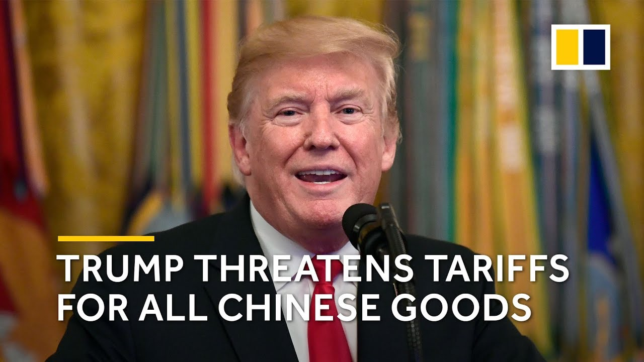 Trump threatens tariffs on nearly all Chinese goods after Beijing hits back