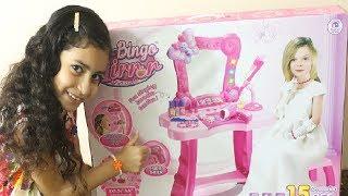 العاب | العاب بنات | لعبة التسريحة والمراية الحقيقية وادوات التجميل والمكياج للبنات